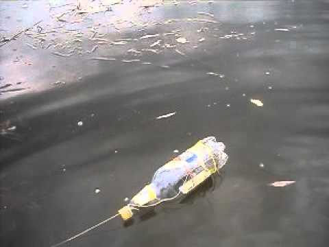 видео ловим карпа на бутылку