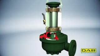 Новый промышленный канализационный насос DAB FK(, 2016-10-07T06:38:20.000Z)
