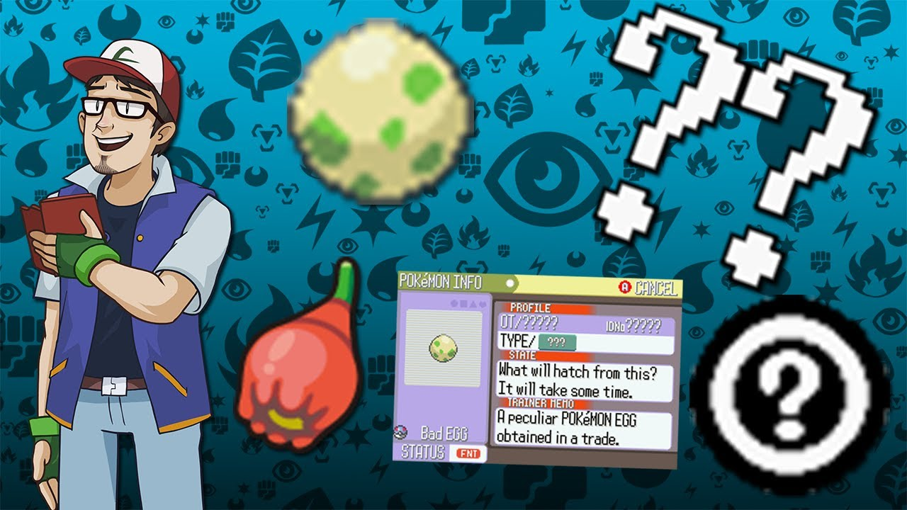Bad Egg And Other 3rd Generation Glitch Pok U00e9mon