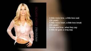 Скачать Jessica Simpson 02 A Little Bit Lyrics