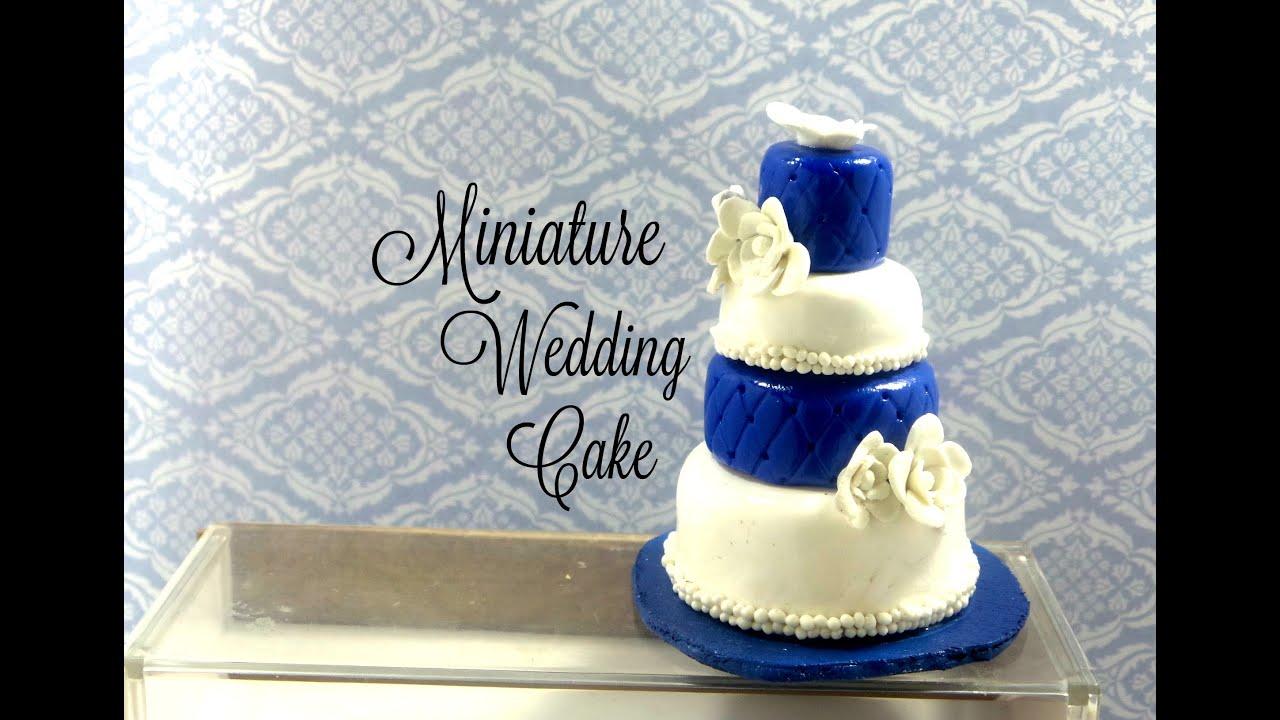 Polymer Clay Wedding Cake Tutorial