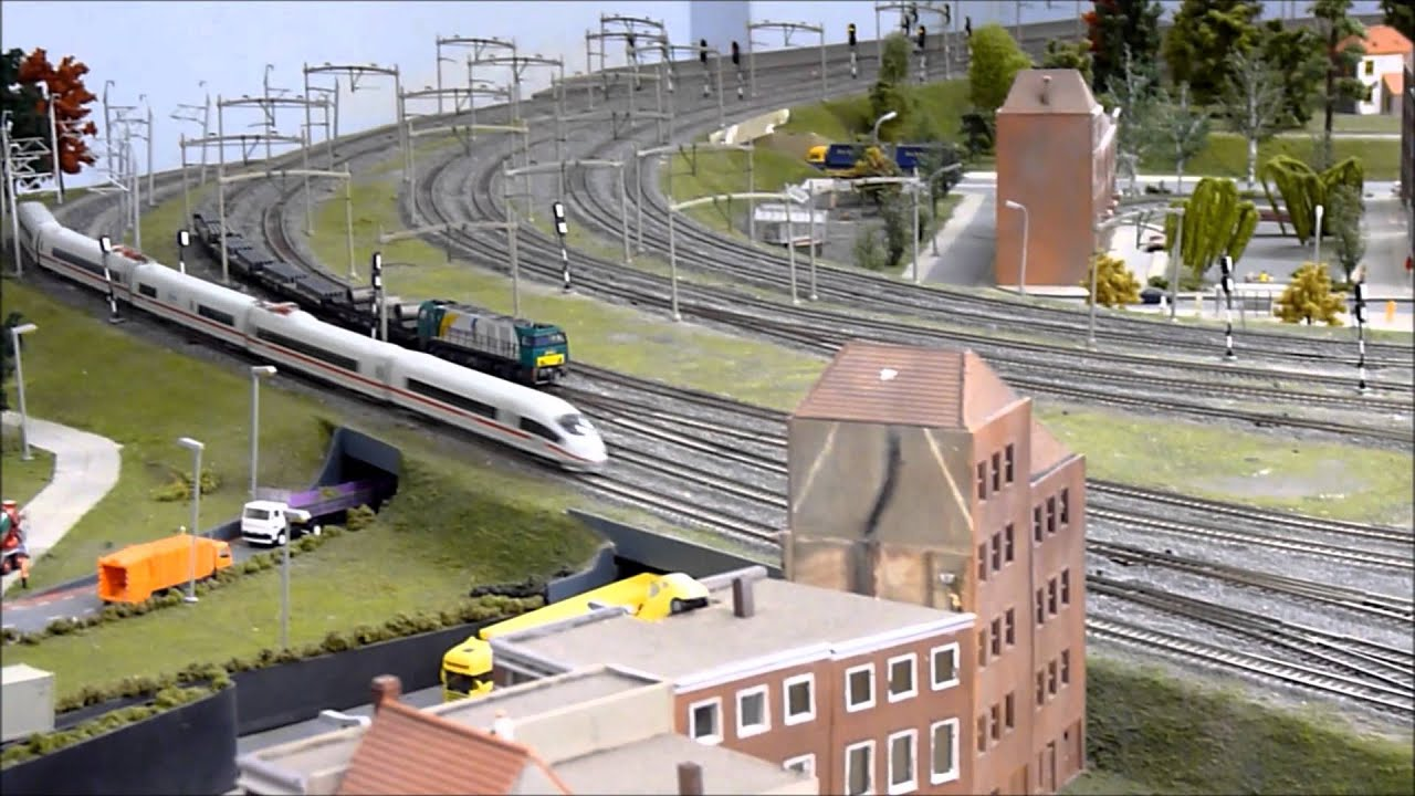 Railz Miniworld Rotterdam, miniature trains in scale 1:87, 18 March 2012, part 2
