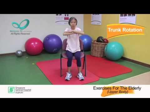 Upper Body Exercises For The Elderly Reel Health #27