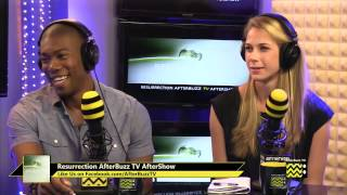 """Resurrection After Show Season 1 Episode 1 """"The Returned""""   AfterBuzz TV"""