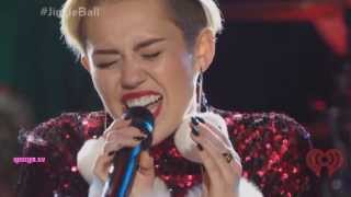 Miley Cyrus - Wrecking Ball (Live At Z100