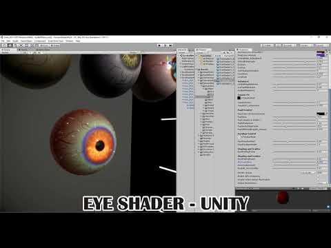 Eye Shader - For Unity 2017 x PBR - Custom shaders
