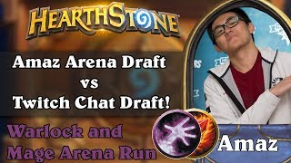 Amaz Arena Draft vs Twitch Chat Draft! Who is smarter?