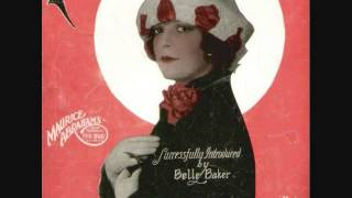Belle Baker - If I Had a Talking Picture of You (1929)