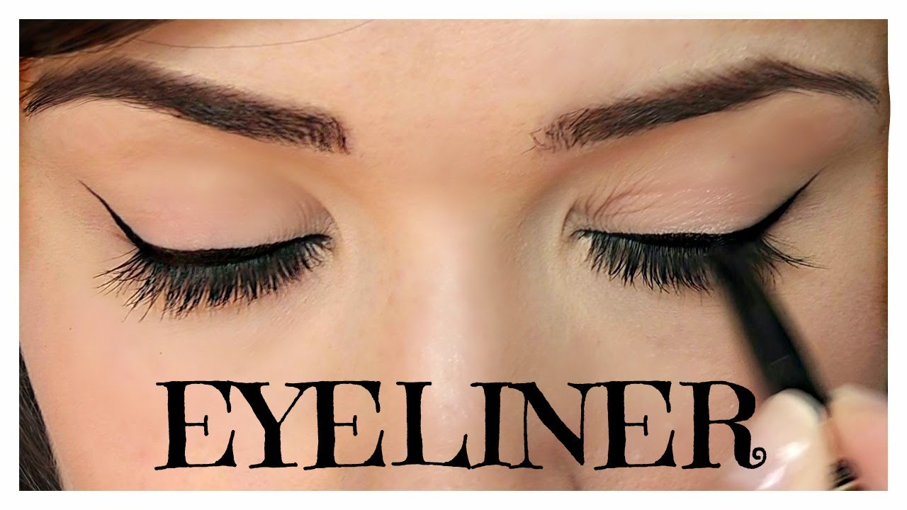 How to apply eyeliner pencil cream gel liquid themakeupchair youtube