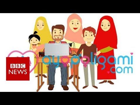 'Go polygamy' app stirs controversy in Indonesia - BBC News