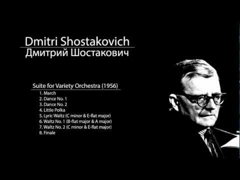 Shostakovich - Suite for Variety Orchestra - 8. Finale