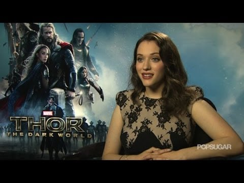 Kat Dennings Agrees: Everyone in Thor Is Gorgeous | POPSUGAR Interview