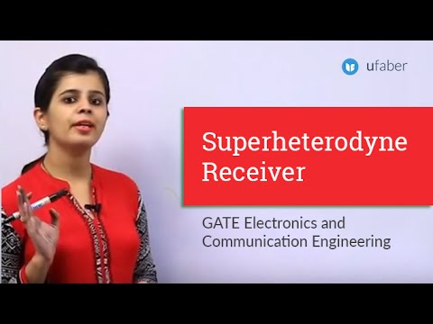 Superheterodyne Receiver - GATE 2016 ECE