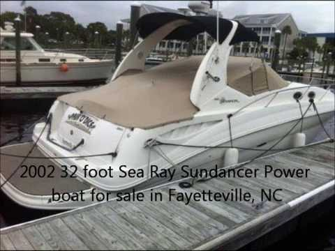 2002 32 Foot Sea Ray Sundancer Power Boat For Sale In Fayetteville Nc 48 000
