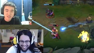 7.22 - The Imaqtpie's Patch?   Pobelter Inting? - LoL Funny Stream Moments #257