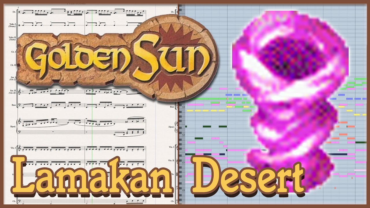 "New Arrangement: ""The Storm"" from Golden Sun (2001)"