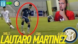 REAZIONE alle SKILLS, GOALS e ASSISTS di LAUTARO MARTINEZ !!
