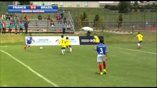 France vs Brazil - Ranking - Highlights - Danone Nations Cup 2014