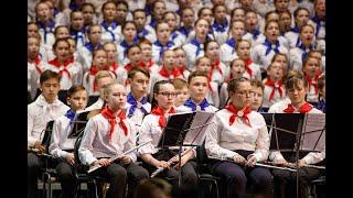 08 05 2021 День Победы Отрывок из песни. Всемарийский детский хор
