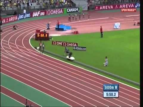 Dibaba Vs Ayana at DIAMOND LEAGUE PARIS(20150705)