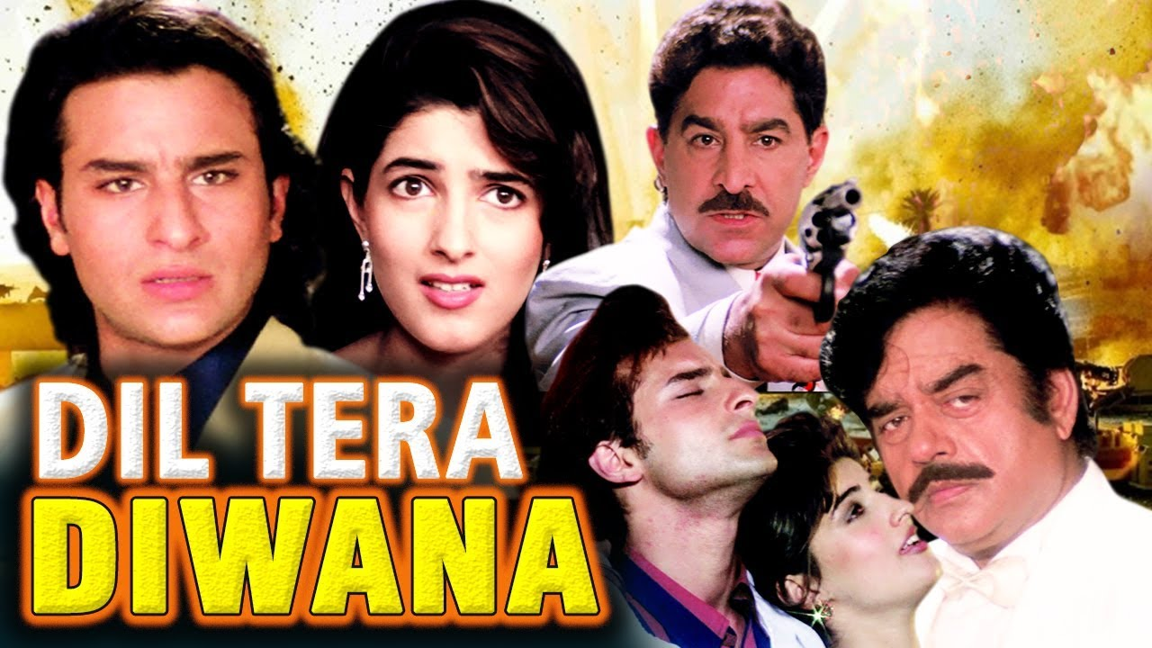 Download Dil Tera Diwana Full Movie | Hindi Action Movie | Saif Ali Khan | Twinkle Khanna |Bollywood HD Movie
