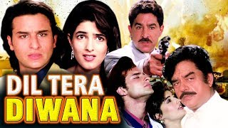 Dil Tera Diwana Full Movie | Hindi Action Movie | Saif Ali Khan | Twinkle Khanna |Bollywood HD Movie