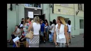 В Одесском медучилище  большая очередь на подачу документов
