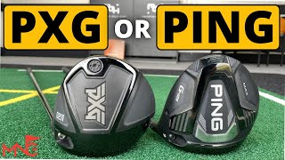 SO STRAIGHT! PXG 0211 Driver vs Ping G425 Max Driver