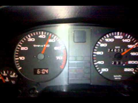 Audi 80 b3 1.8s 0-185