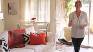 How to Decorate an Entryway & Living Room Separately : Interior Design & Decor