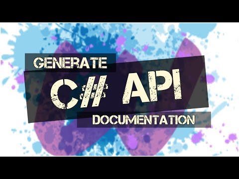 Generate API Docs for your C# Projects with Wyam
