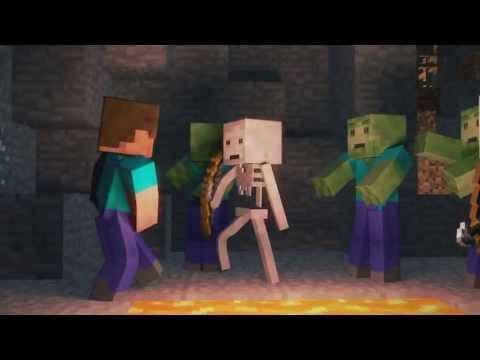 Minecraft Şarkılı Animasyon 1 - Wiliam Scream And Shout