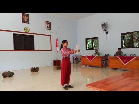 Juara 1 Baca Puisi IBU Karya Mustofa Bisri FLS2N 2017