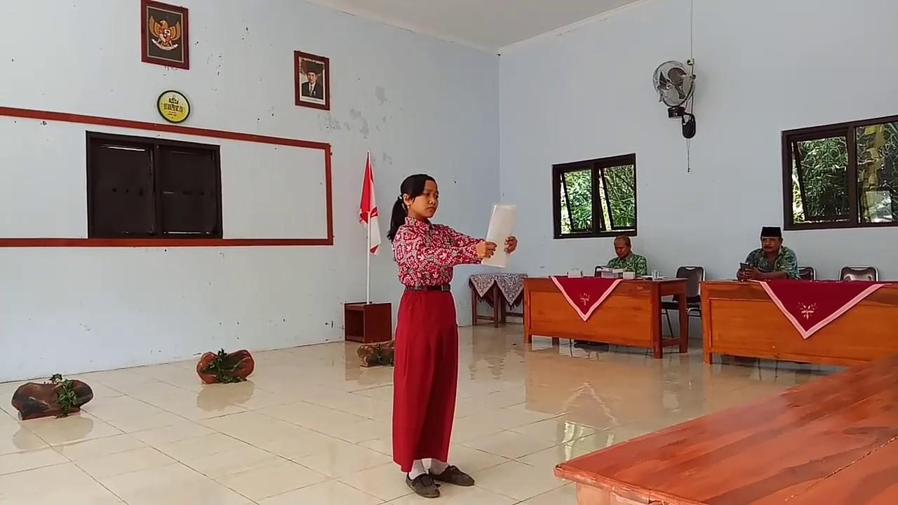 Juara 1 Baca Puisi Ibu Karya Mustofa Bisri Fls2n 2017 Youtube