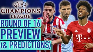The UCL is BACK: Champions League Round of 16 Preview 2020-21 (& Predictions)