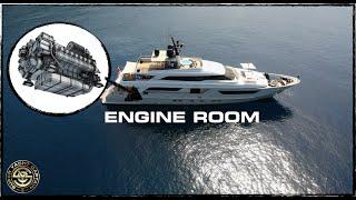 Full Engine Room Tour On A Super Yacht (Captain's Vlog 119)