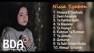 NISSA SYABAN - TOP 10 HQ AUDIO