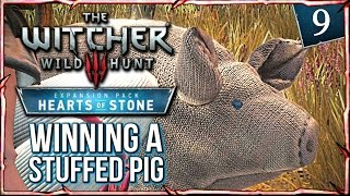 Witcher 3: HEARTS OF STONE ► King of Swineherds! Shani gets a Stuffed Pig #9
