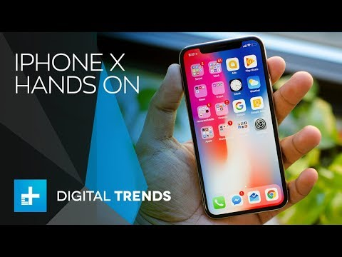 iPhone X – Hands On