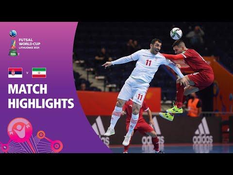 Serbia v IR Iran | FIFA Futsal World Cup 2021 | Match Highlights