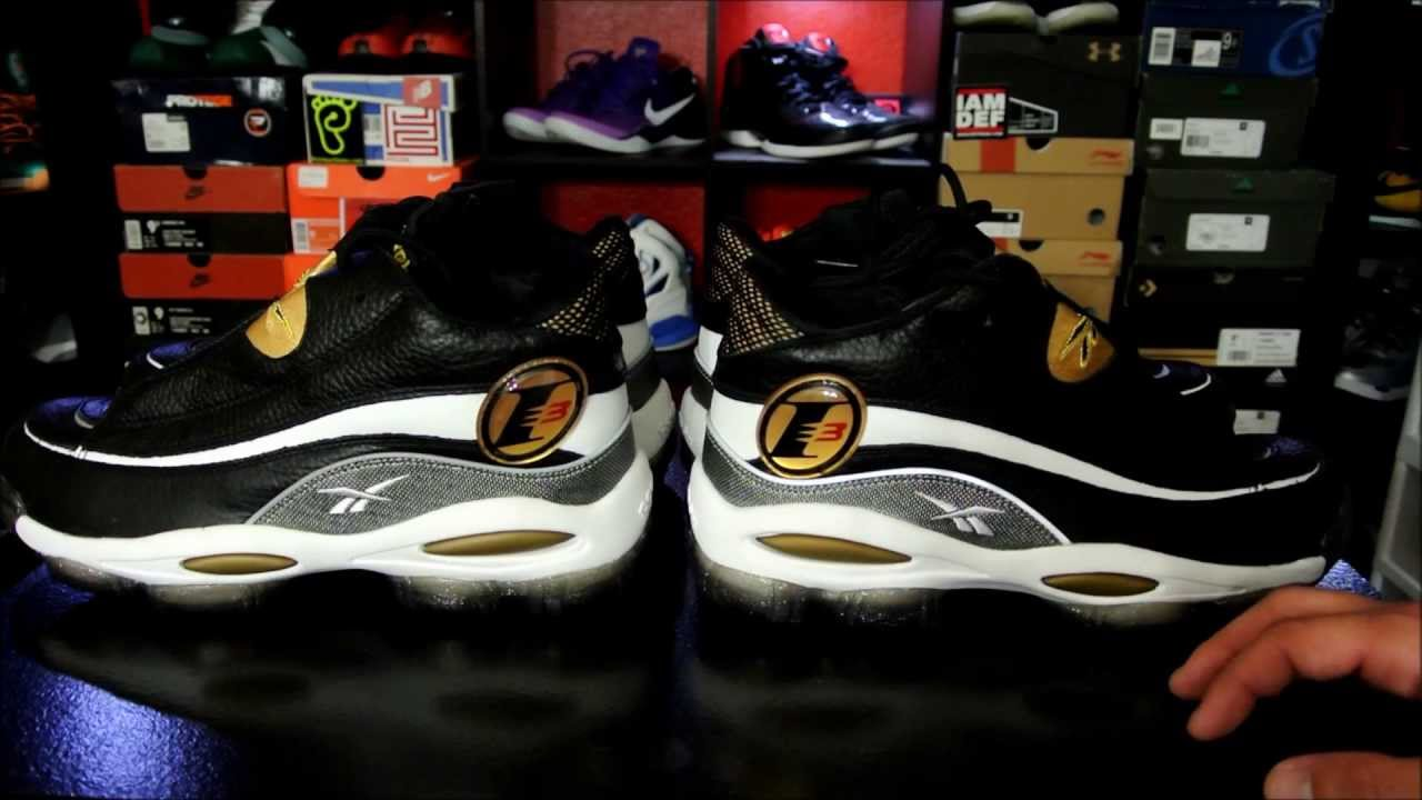 Update: Reebok Answer DMX 10 Retro 2013 + On Foot - YouTube