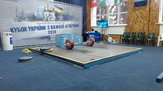 Кубок України з важкої атлетики 2019. Чоловіки в/к 89, 96, 102, 109 кг