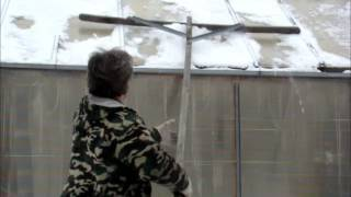 видео Теплицы Гарантия Снег Зима теплицы поломанные снегом