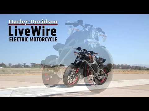 Harley-Davidson LiveWire Electric Motorcycle Test Ride