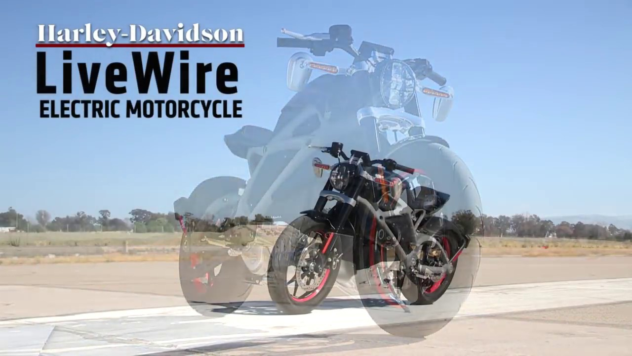 画像: Harley-Davidson LiveWire Electric Motorcycle test ride youtu.be