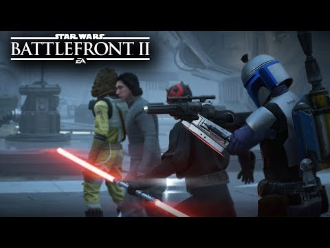 Star Wars Battlefront 2 - JANGO FETT HEROES VS VILLAINS GAMEPLAY! (ENDOR) MODS