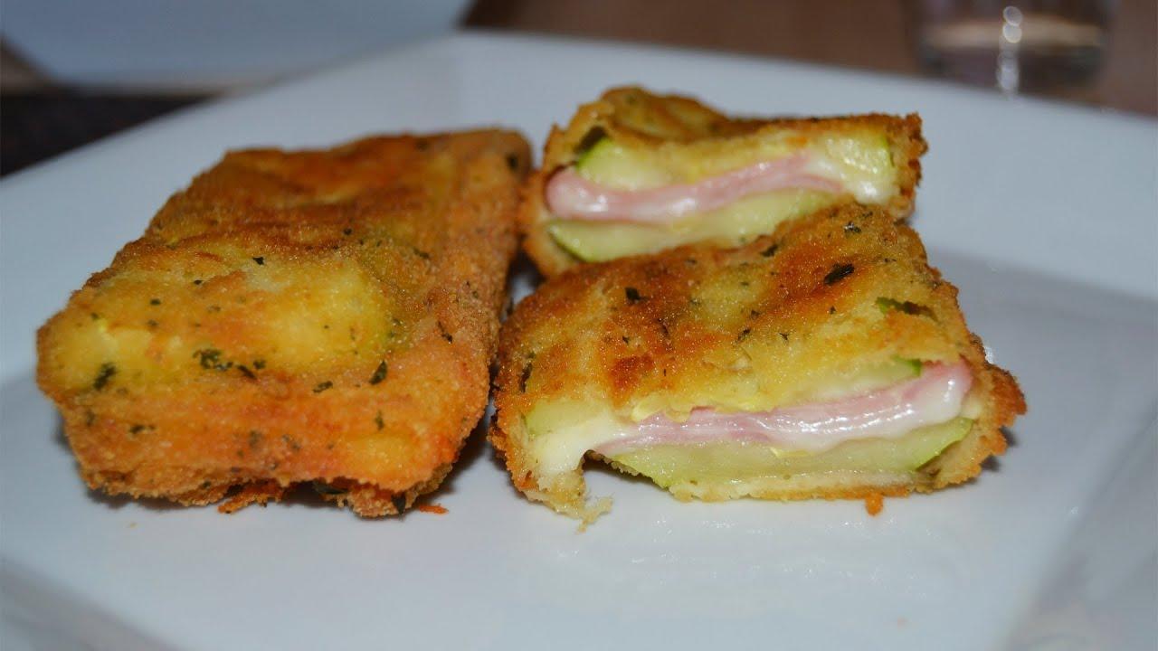 Platos Sencillos De Cocinar | San Jacobo De Calabacin Recetas De Cocina Faciles Y Rapidas