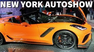 2018 NEW YORK AUTO SHOW FEAT. CORVETTE ZR1