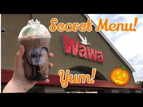 Nicole - Here's How to Order from Wawa's Secret Halloween Menu!