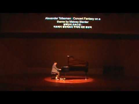 Alexander Tsfasman - Concert Fantasie On A Theme By Matvey Blanter